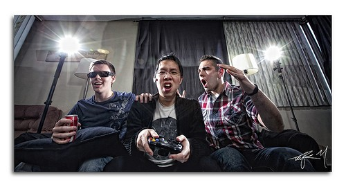 gamers photo