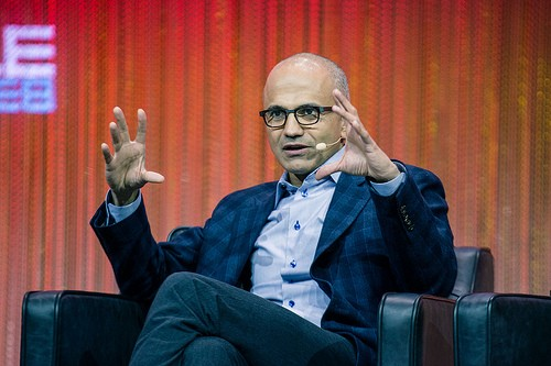 satya nadella photo