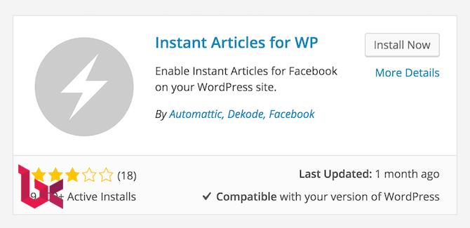 cara membuat instant articles