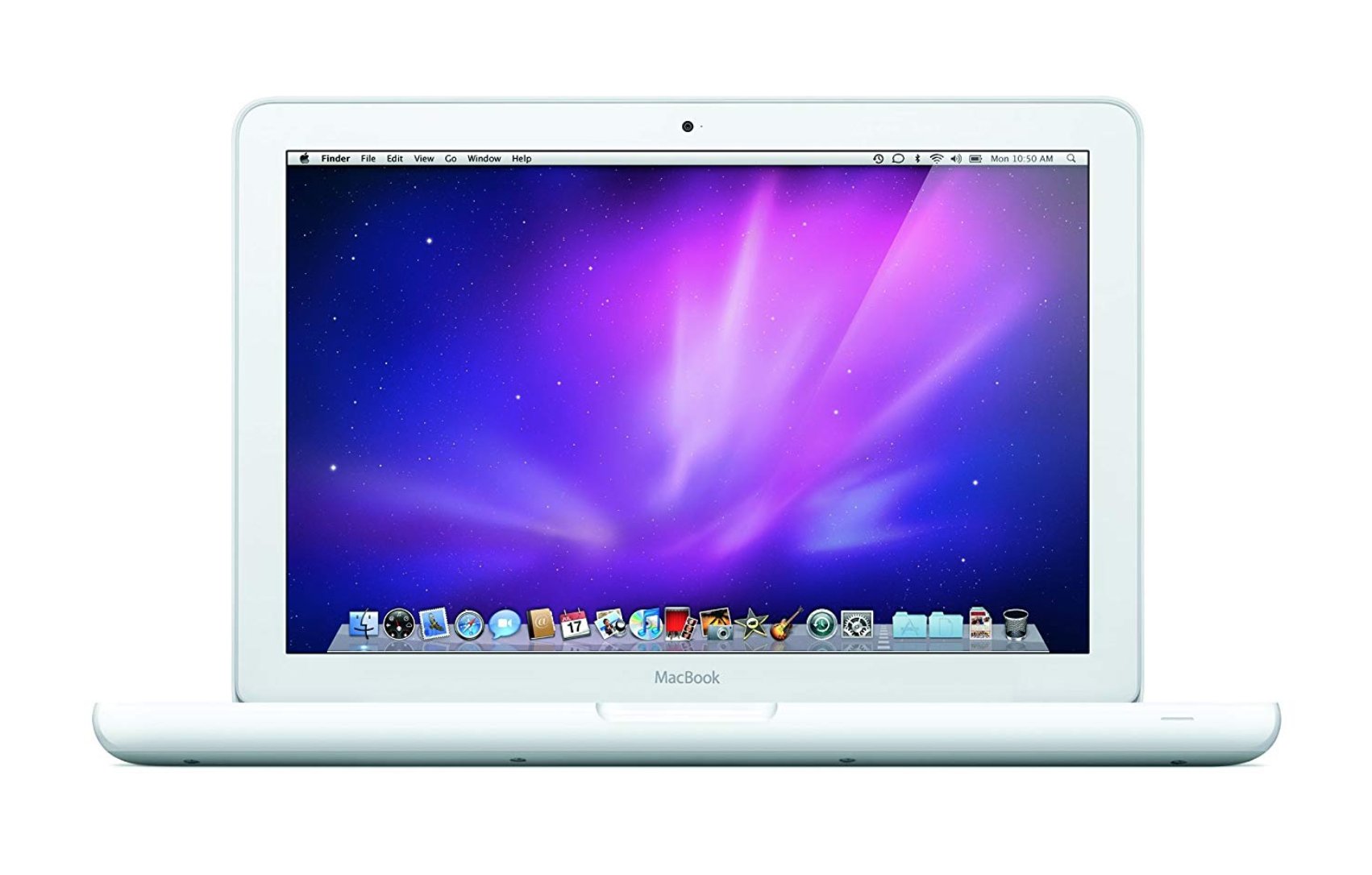 Apple macbook unibody white 6.1