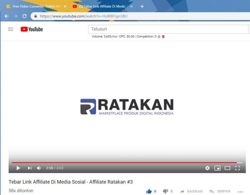 cara download lagu dari youtube dengan converter online