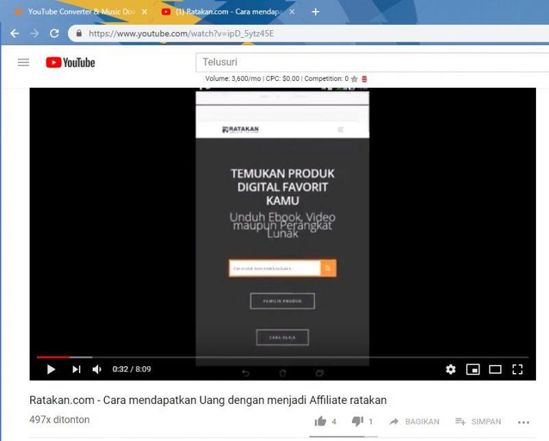 cara nak download lagu mp3 dari youtube