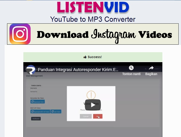 download video tanpa aplikasi