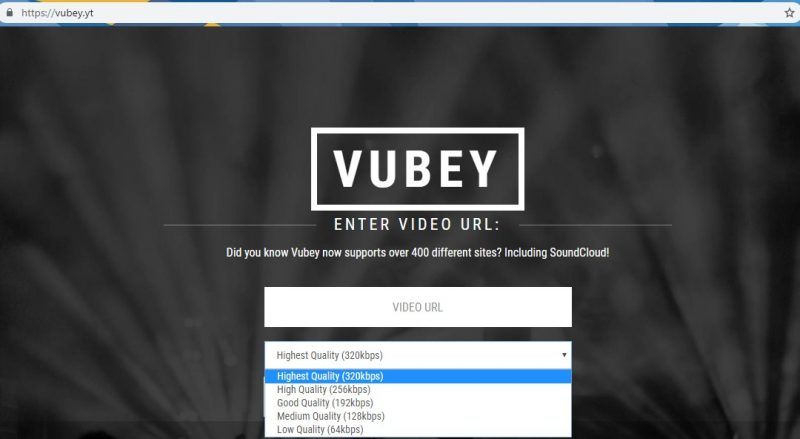 cara download lagu di youtube dengan vubey