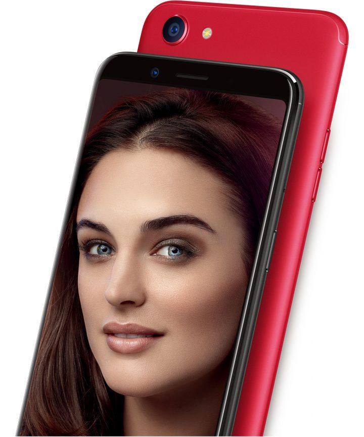 Smartphone Oppo F5: Maksimalkan hasil Selfie