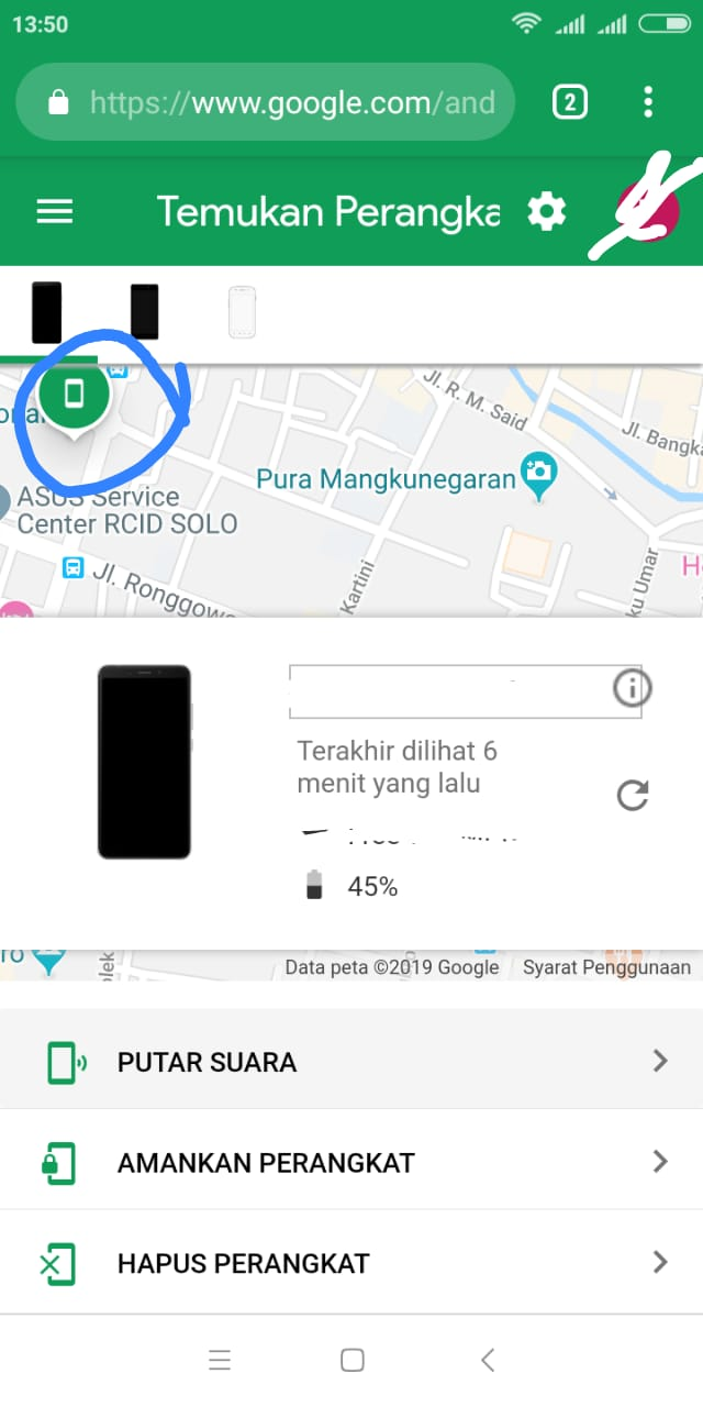 cara melacak hp dengan GPS