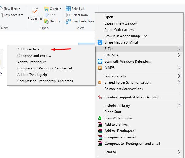 cara membuka folder yang dikunci