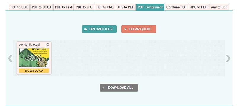 Cara kompres pdf