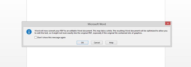 Kompres pdf dengan word