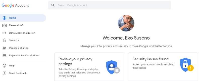Proteksi Akun Email Dengan Cara Mengganti Password Gmail