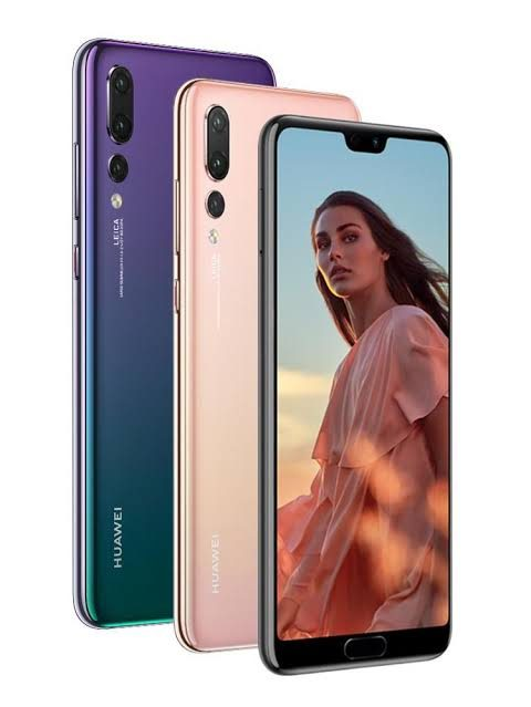 Desain Huawei p20 pro