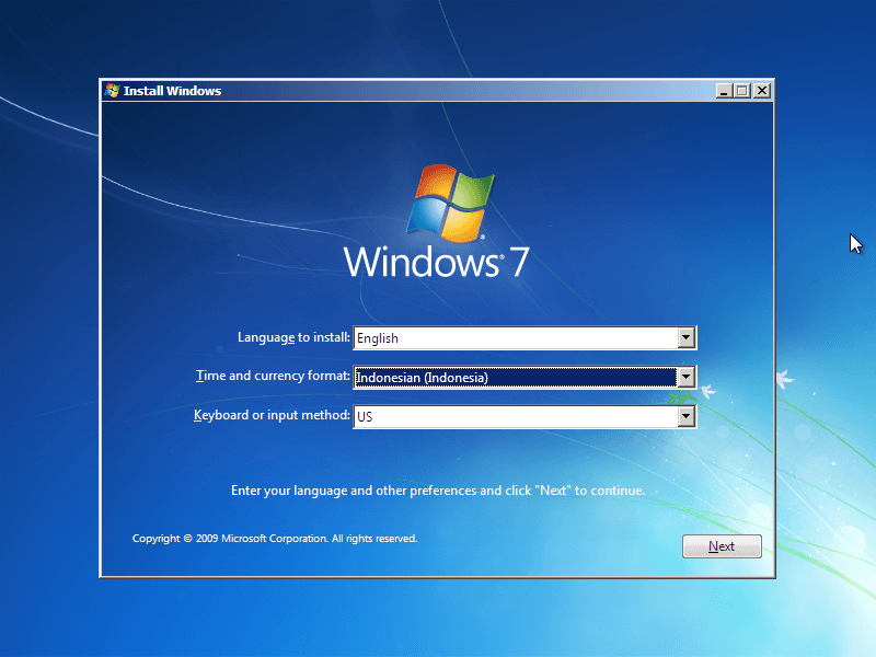 Ini Dia Cara Install Ulang Windows 7 Dengan Flashdisk