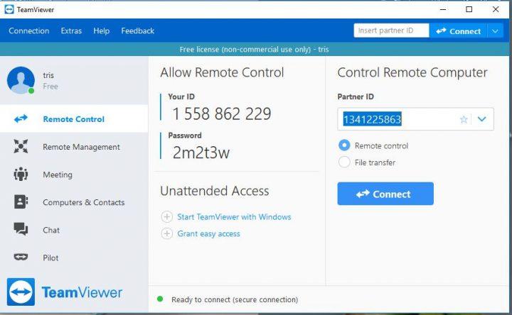 √ 4 Cara Menggunakan TeamViewer Untuk Remote PC & Android