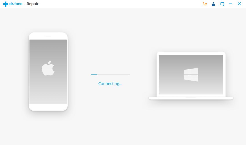 Pastikan iphone dan PC/Laptop telah terhubung dengan usb