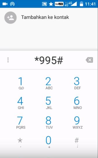 cara cek kuota smartfren melalui dial phone