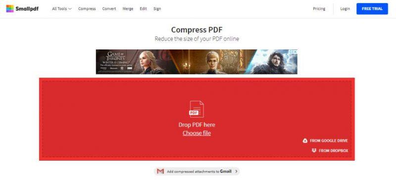 cara memperkecil ukuran file pdf