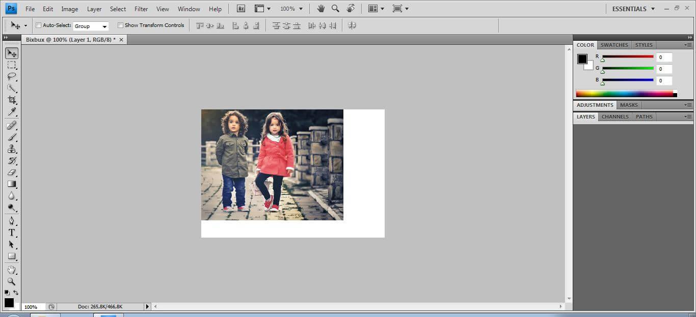 foto pada kertas/dokumen putih belum pas