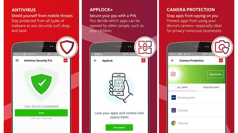 Screenshoot Avira Antivirus untuk mobile