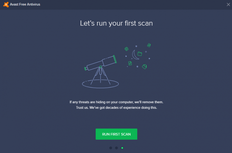 mulai scan virus