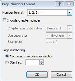 Mengatur di Number Format