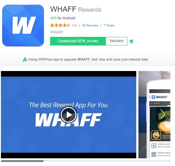 Screenshot Whaff