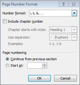 format menjadi romawi dengan Page Number ></noscript><img class=