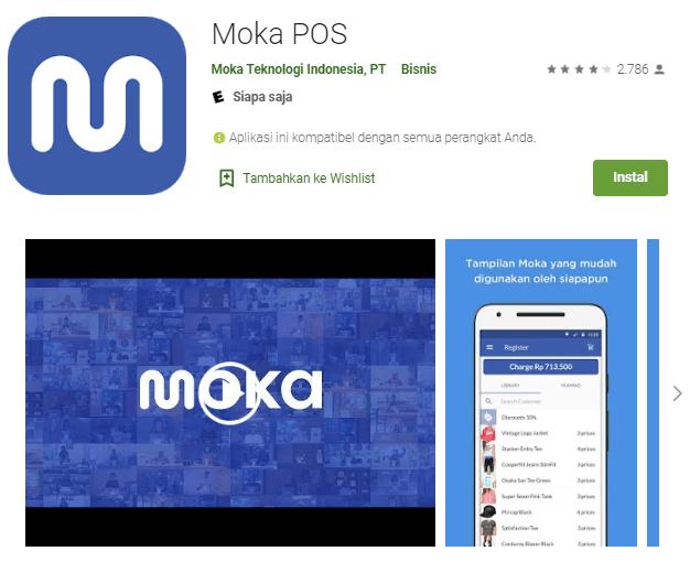 Screenshot Moka