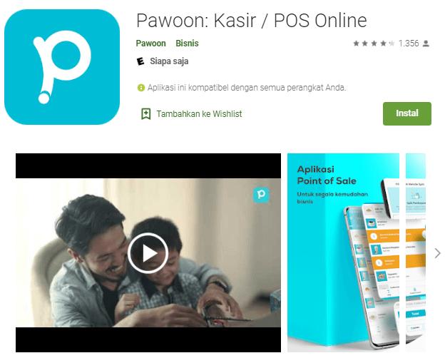 Screenshot Pawoon