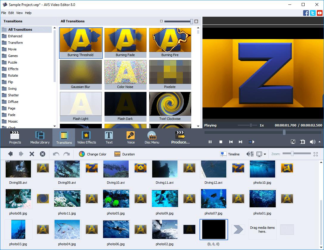 Gambar AVS Video Editor