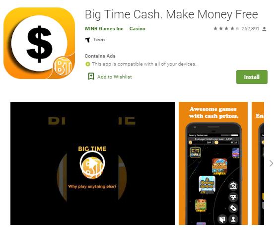 Screenshot Big Time Cash