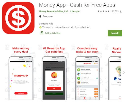 Screenshot Money App
