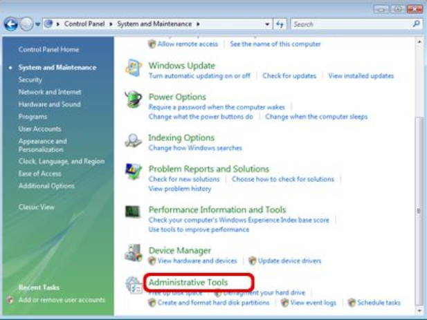cara partisi hardisk windows vista