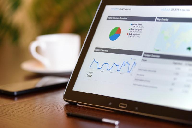 Grafik manajemen keuangan