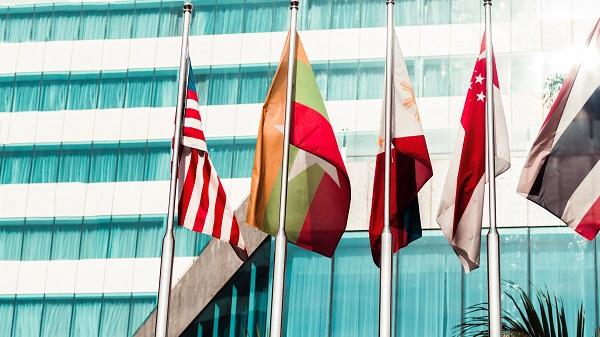 Perkumpulan bendera sebagai wujud kerjasama internasional