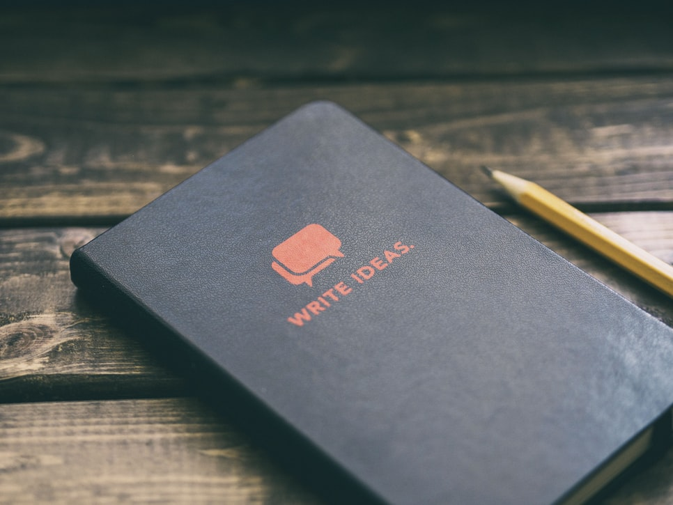 Buku catatan ide-ide