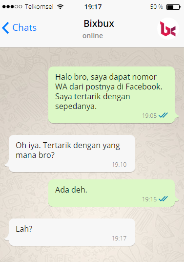 PM WhatsApp