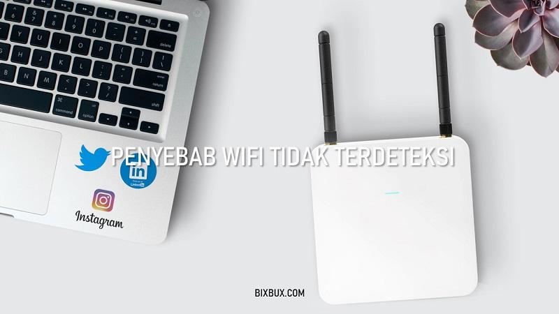 wifi tidak terdeteksi